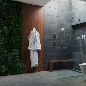 Barra para ducha